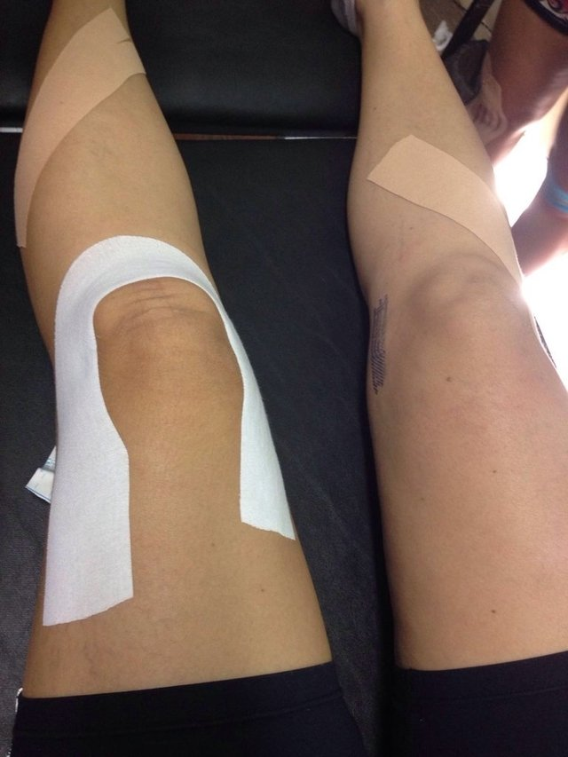 Kinesio Taping - KT3 e KT4 na internet