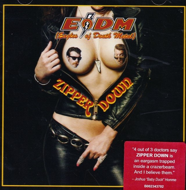 Eagles of Death Metal - Zipper Download (CD)
