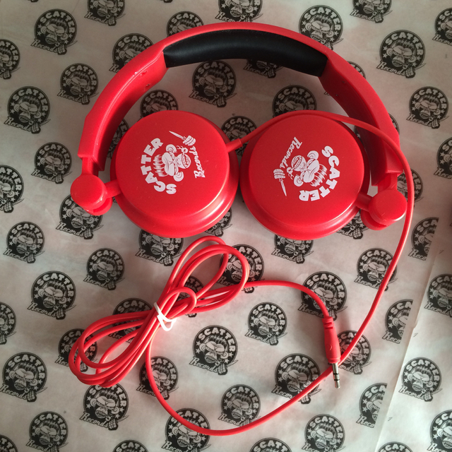 Auriculares Scatter Records