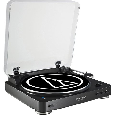 Bandeja Giradiscos Audio Technica At Lp60 Black Bluetooth