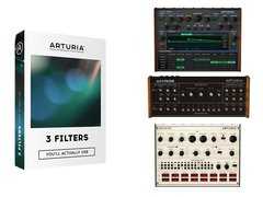 SOFTWARE ARTURIA FILTERS PACK