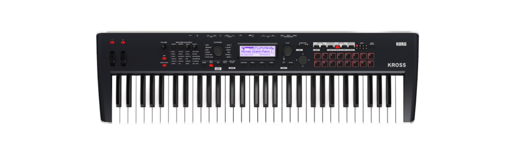 KORG KROSS 2 61 TECLAS 16 PADS SYNTHESIZER WORKSTATION
