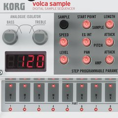 KORG Volca Sample Secuenciador Digital de Samples