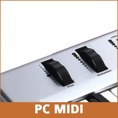 ORIGIN 62 TECLADO MUSICAL MIDI USB 5 OCTAVAS PADS FADERS Y KNOBS