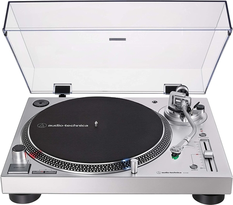 BANDEJA GIRADISCOS AUDIO TECHNICA AT LP120X USB SILVER