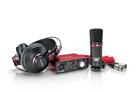 KIT FOCUSRITE SCARLETT SOLO STUDIO