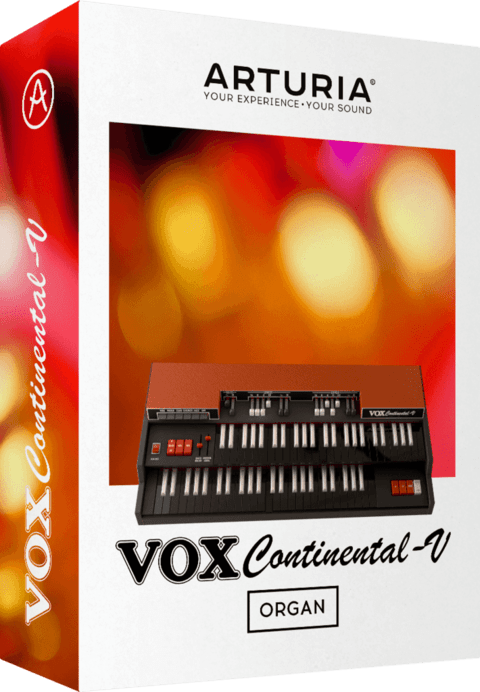 Software Arturia VOX CONTINENTAL V