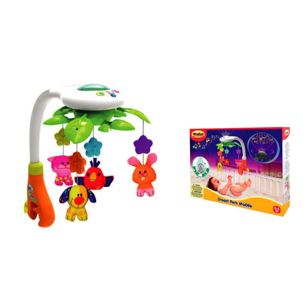 Winfun Movil Musical con Proyector Art.0845-NL