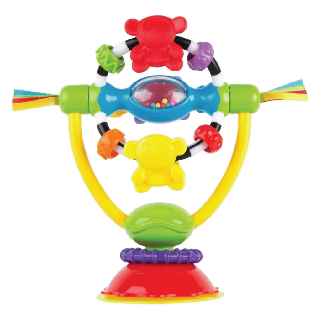 Juguete Sonajero Con Sopapa Playgro Ball Bopper high chair toy