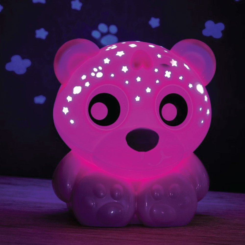 Playgro Goodnight bear night light and prtojector rosa 0m+