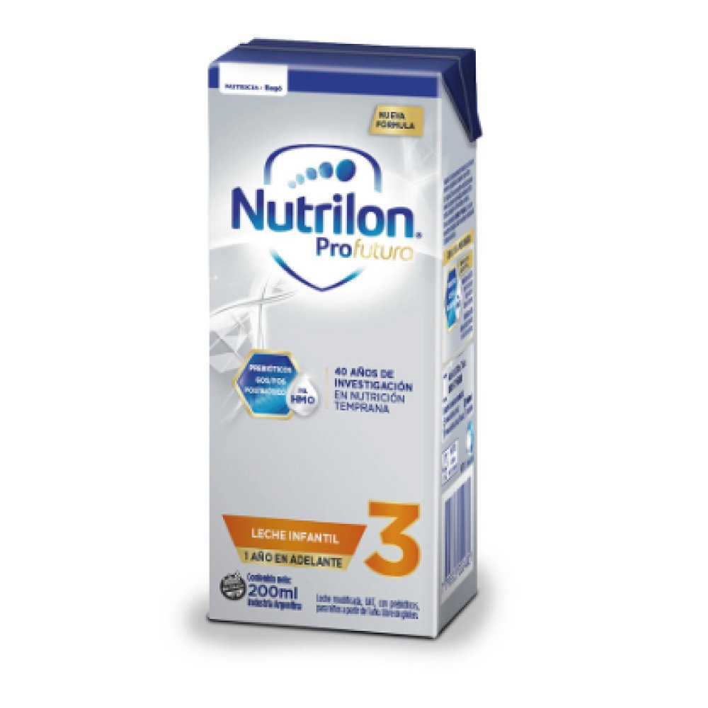 NUTRILON 3 X 200 Ml. (3 pack 30 un. c/u)