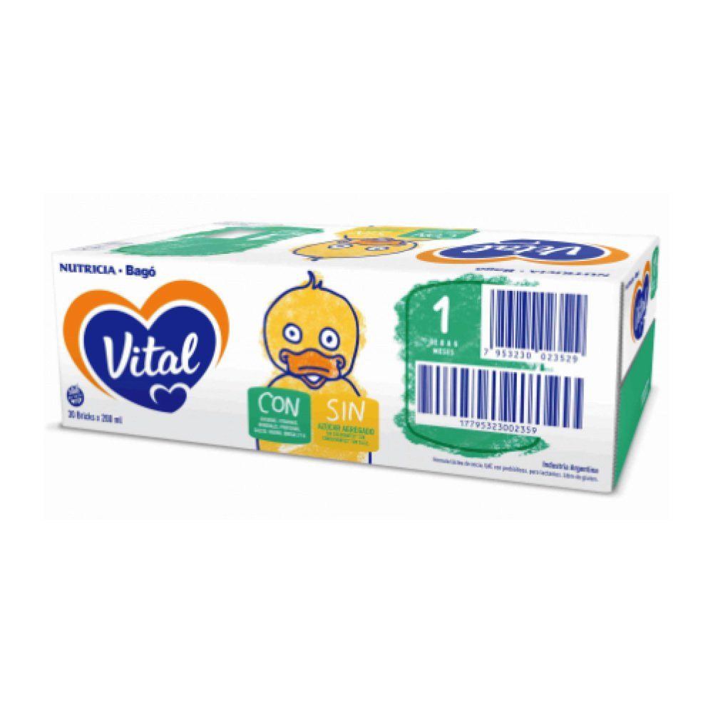 VITAL 1 Nutri Plus x 200ml (30 unidades)