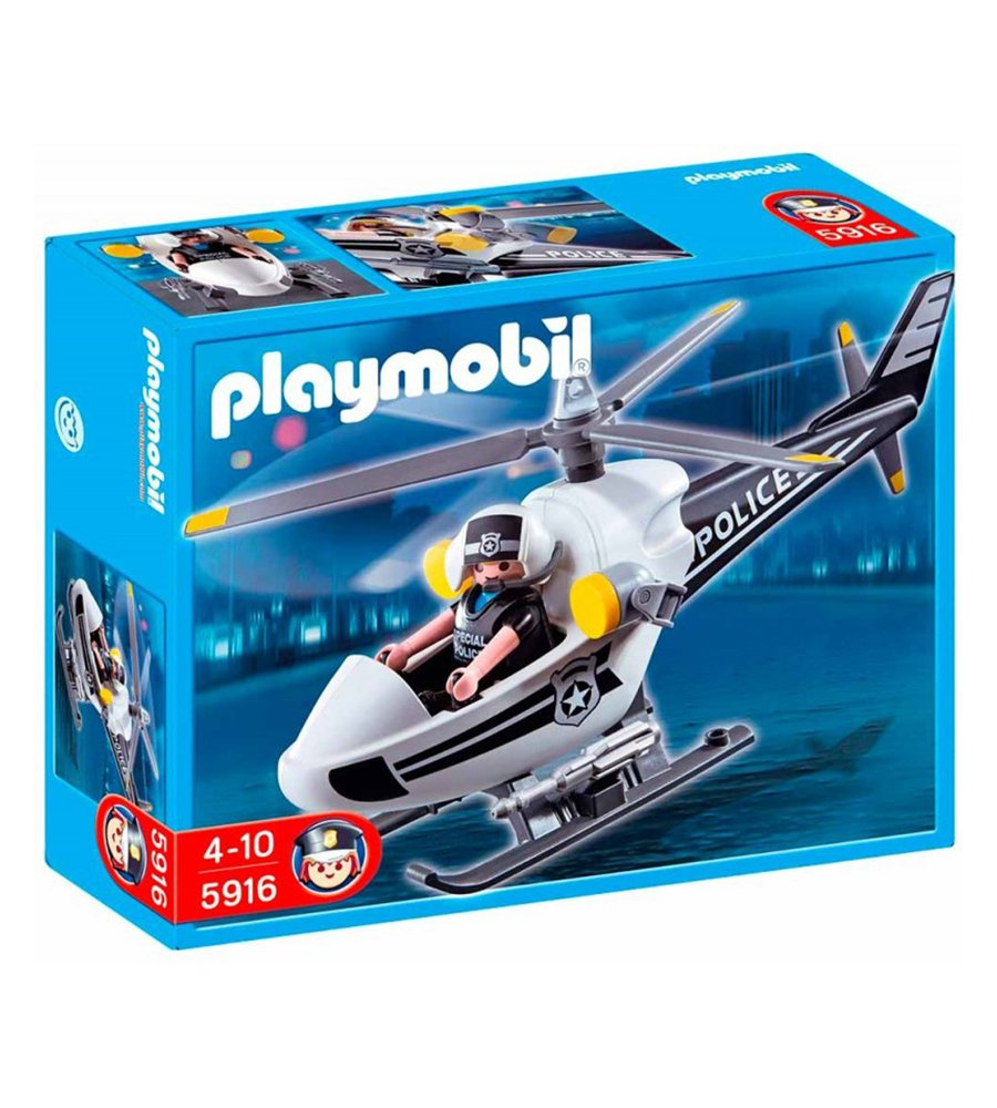 Playmobil City Action Helicoptero 5916