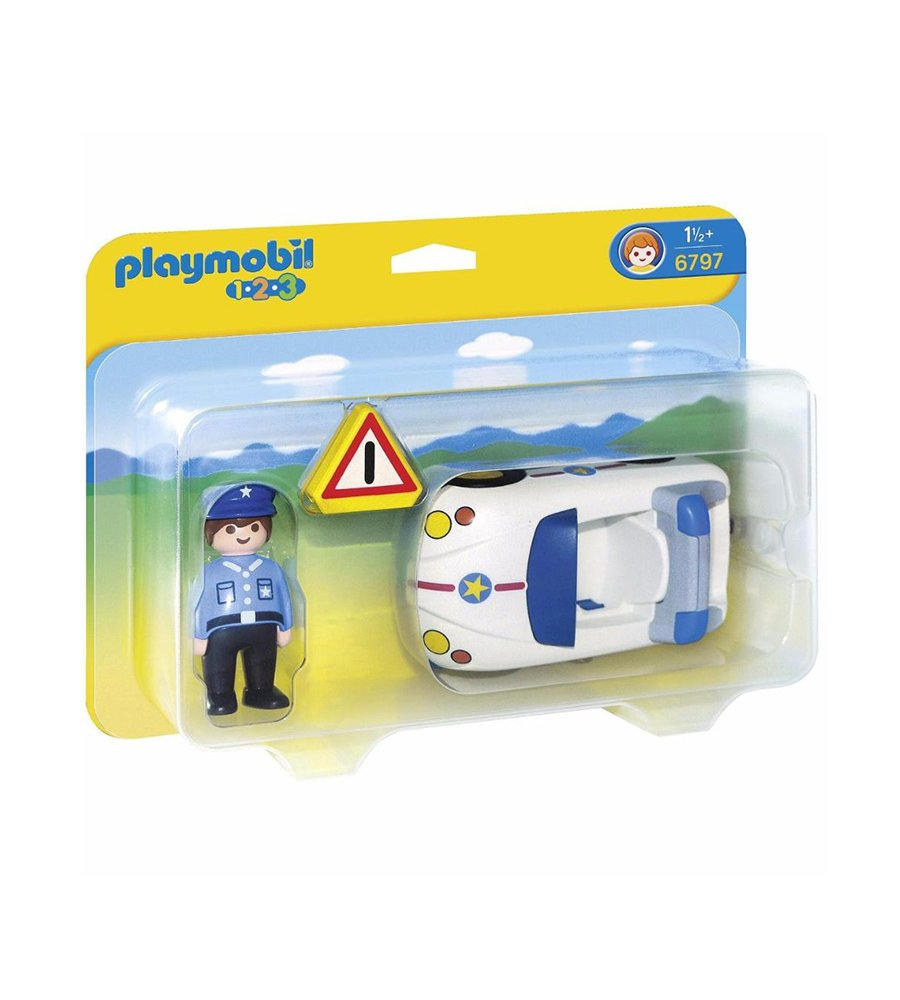 Playmobil 123 Policia De Transito 6797
