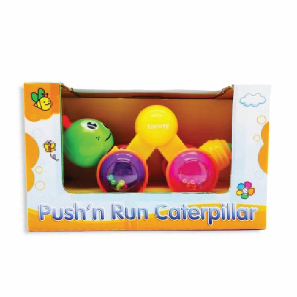 CRESKO PUSH AND RUN CATERPILLAR