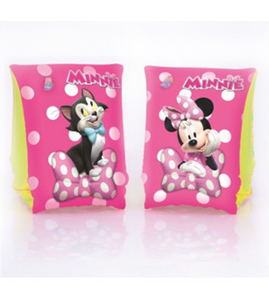 Bracitos inflables salvavida pileta Disney Minnie