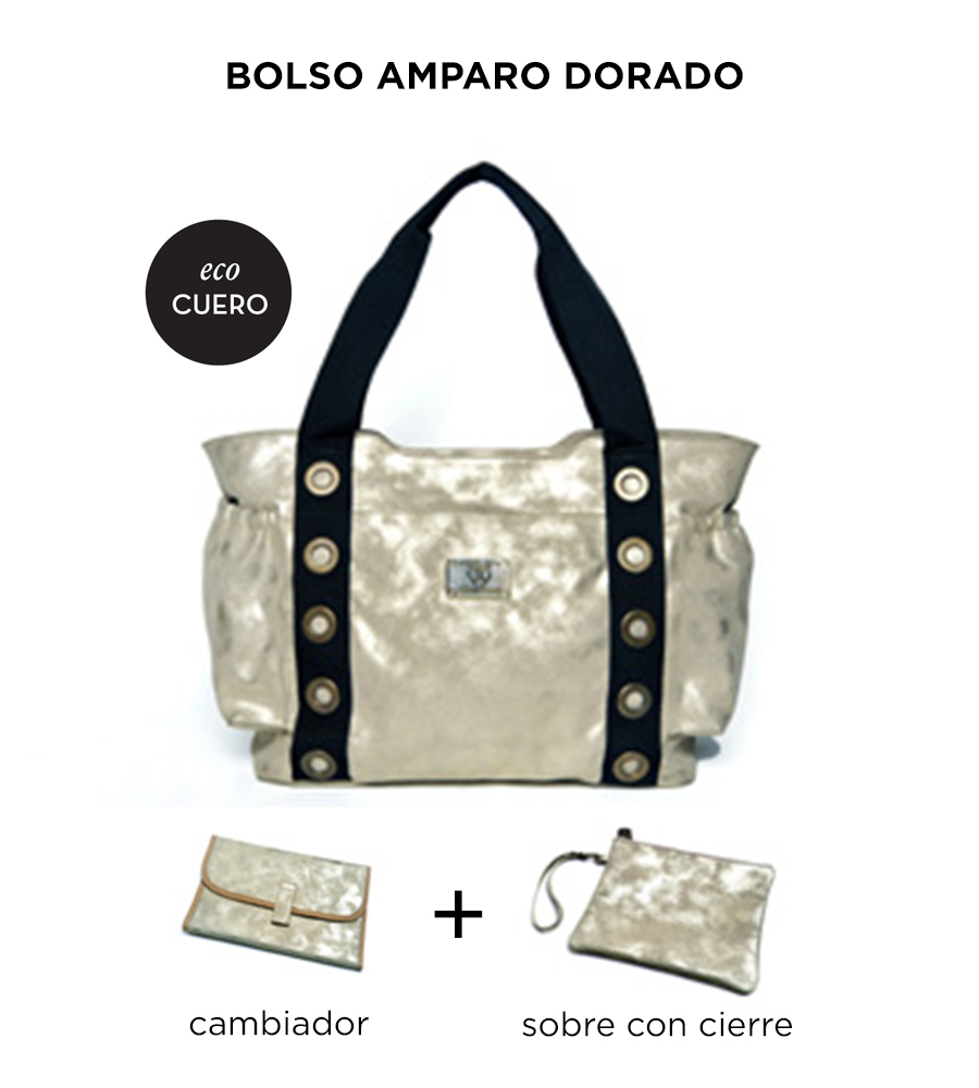 Bolso Amparo Dorado de Happy Little Moments