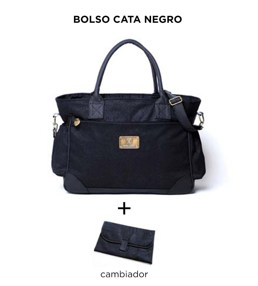 Bolso Cata Negro de Happy Little Moments