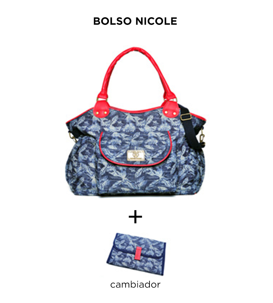 Bolso maternal Nicole de Happy Little Moments