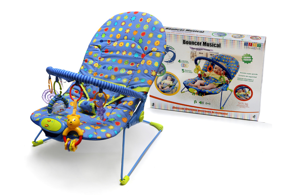 Bouncer Musical Baby Innovation