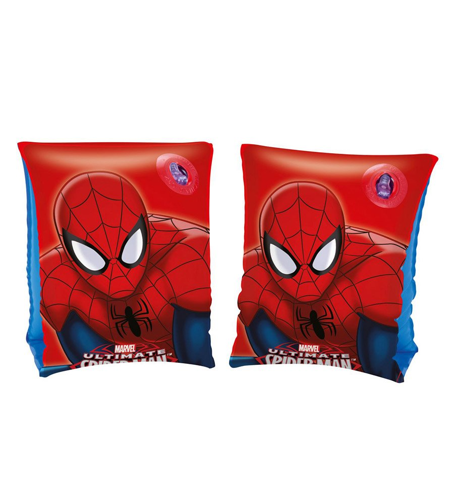 bracitos inflables salvavida pileta Spiderman