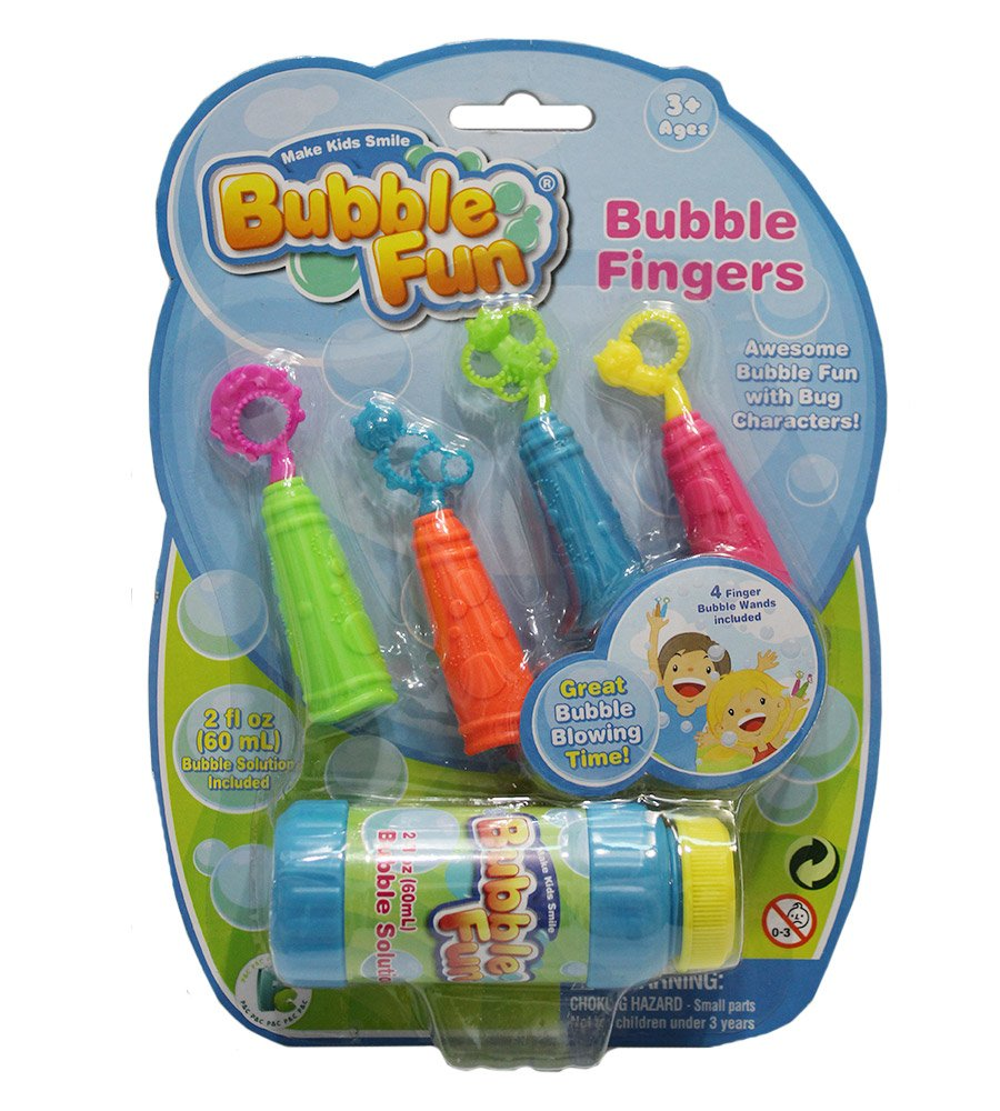 Dedos burbujas Bubble Fun