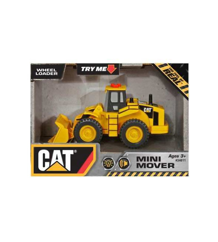 Camión de Juguete c/ sonido CAT Mini Mover WHEEL LOADER