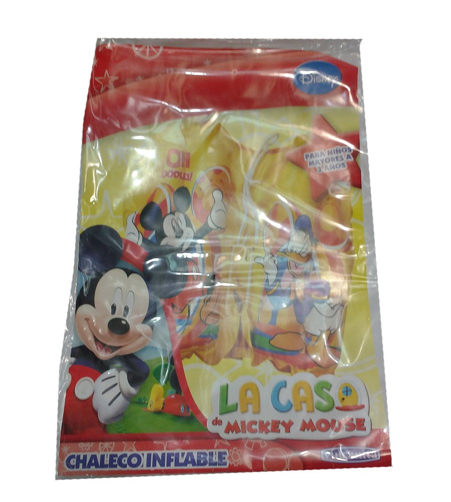 Chaleco Inflable pileta Disney Mickey