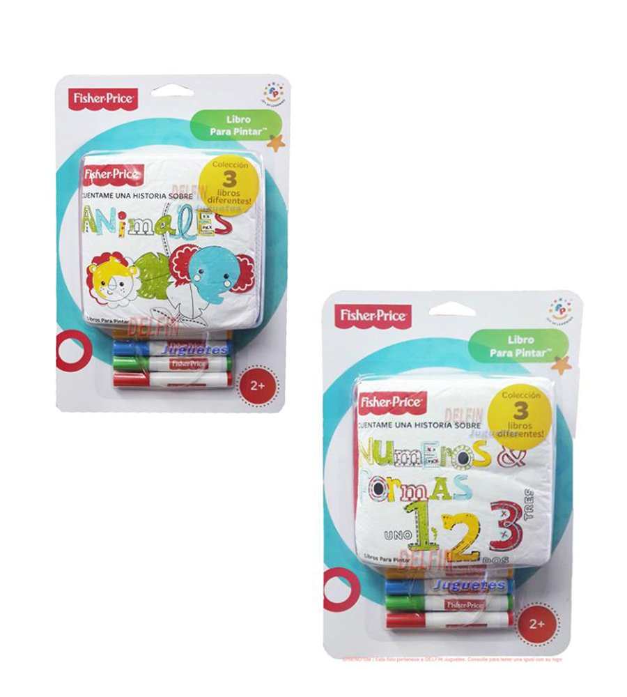 Libro para pintar Lavable Fisher Price