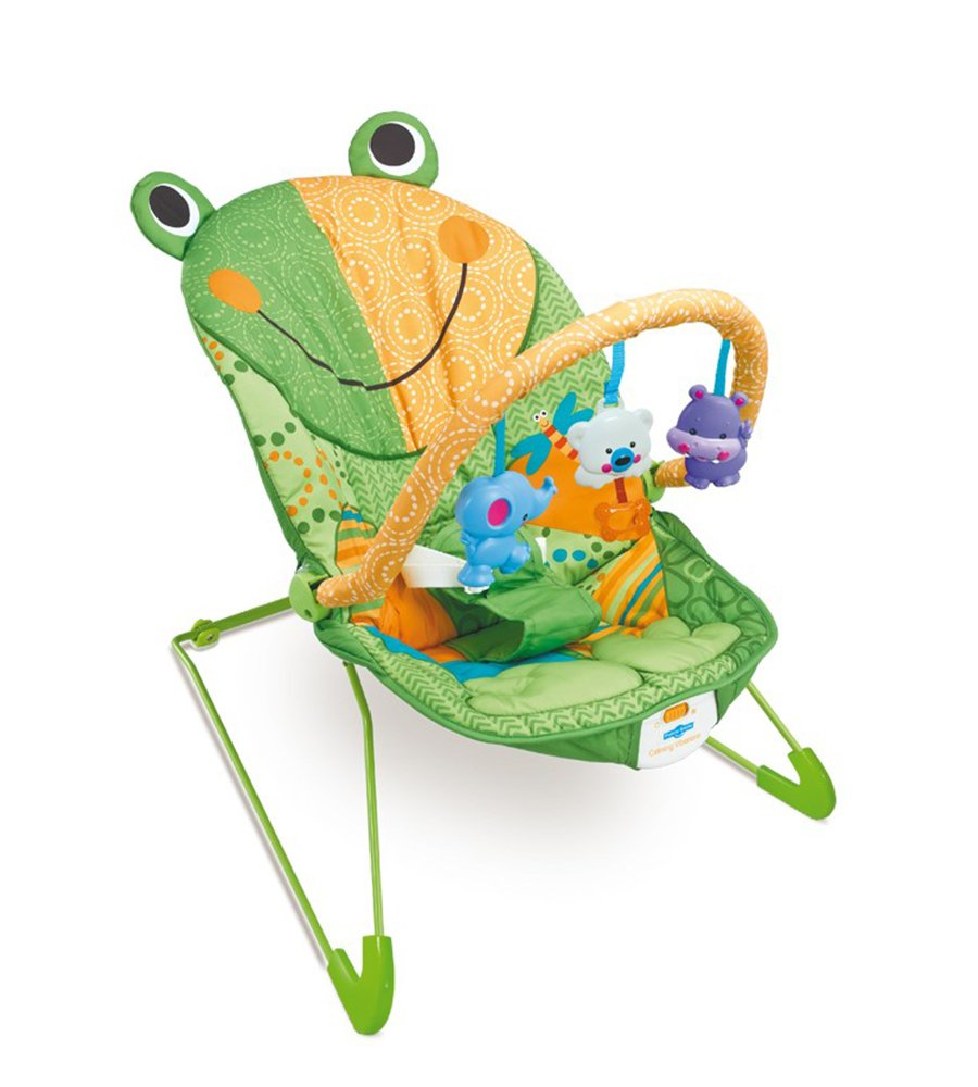 Silla mecedora lovely frog Funny Smile simil Fisher Price - comprar online