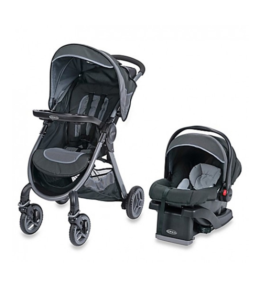 Coche Graco Travel System Fast Action Calibur Con Huevito