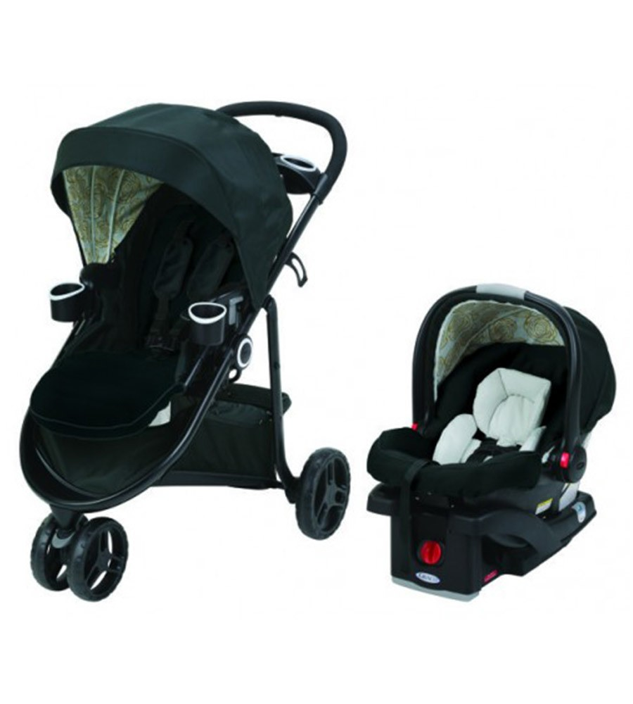 Cochecito Graco Travel System Modes 3 Lite Bloom