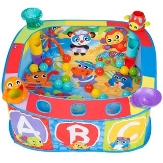 Gimnasio pelotero corralito Playgro Pop and Drop Ball Activity Gym en internet