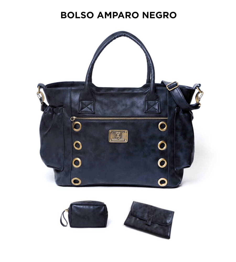 Bolso Amparo Negro de Happy Little Moments