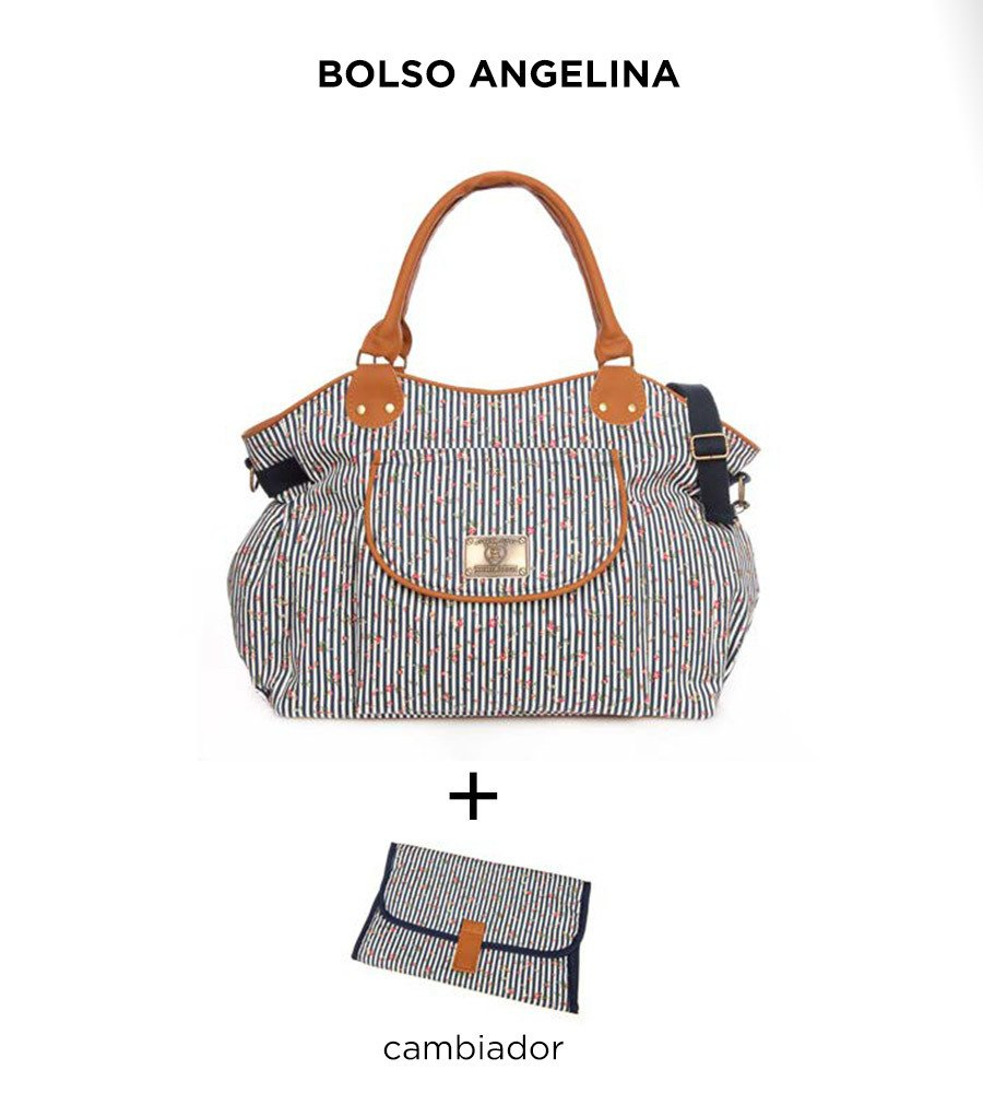 Bolso maternal Angelina de Happy Little Moments - comprar online