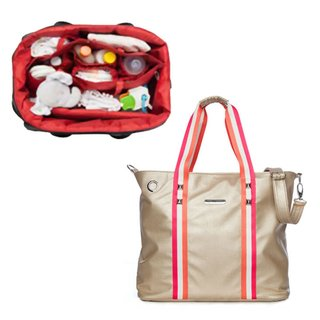 Bolso Maternal Happy Little Moments  SHOPPING BAG ECO CUERO varios colores - Punto Bebe Baby Store