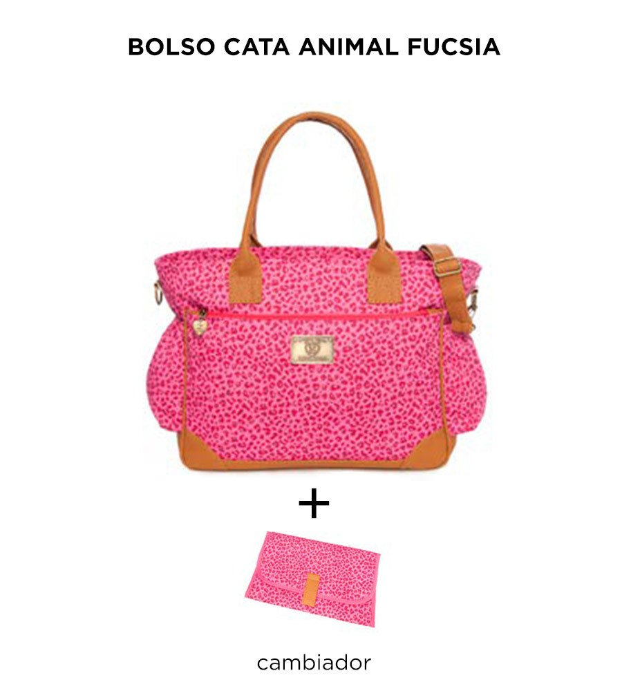 Bolso Cata Animal Fucsia de Happy Little Moments - comprar online