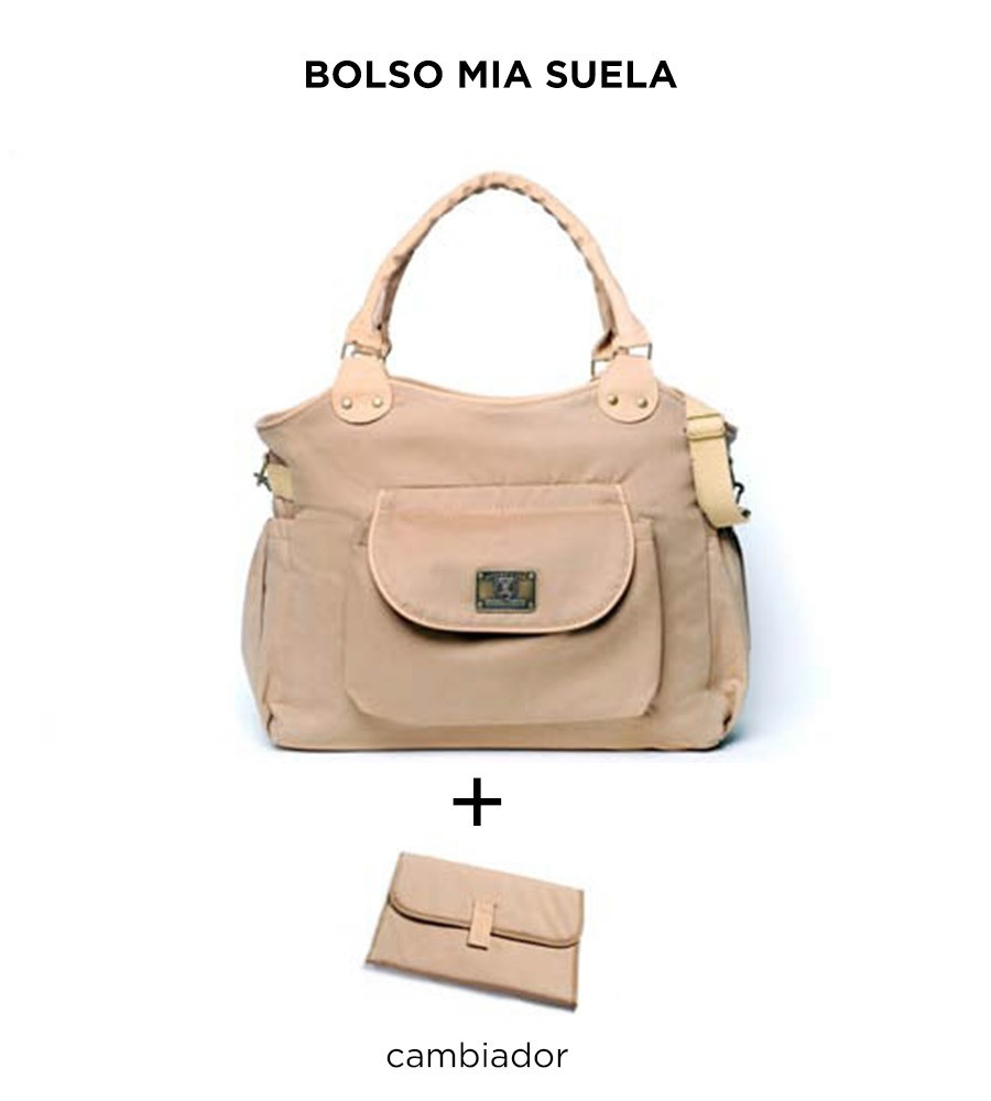 Bolso maternal Mia Suela de Happy Little Moments - comprar online