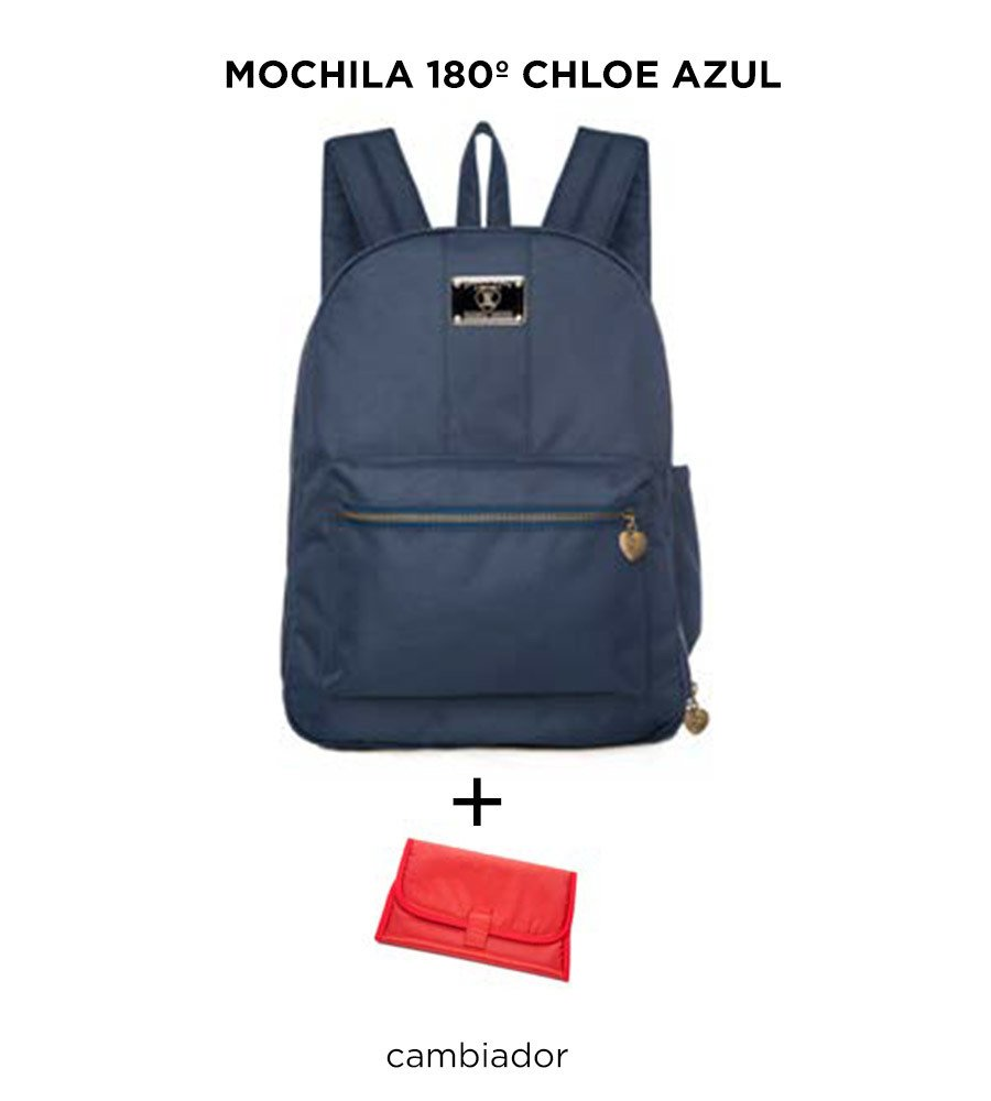 Mochila Maternal Happy Little Moments 180º CHLOE Varios Colores