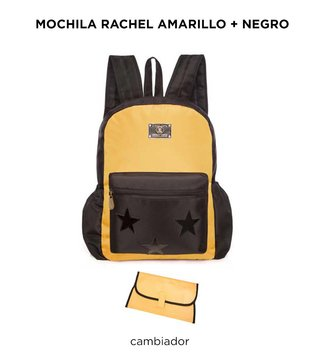 Mochila Maternal Happy Little Moments RACHEL Varios colores