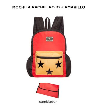 Mochila Maternal Happy Little Moments RACHEL Varios colores - Punto Bebe Baby Store