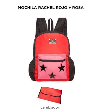 Mochila Maternal Happy Little Moments RACHEL Varios colores - comprar online