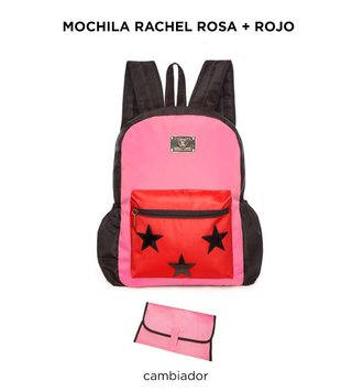 Mochila Maternal Happy Little Moments RACHEL Varios colores en internet