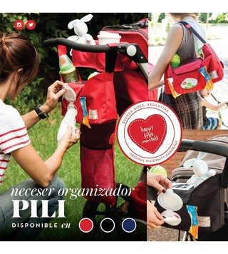 Neceser Organizador para cochecito Pili de Happy Little Moments - tienda online