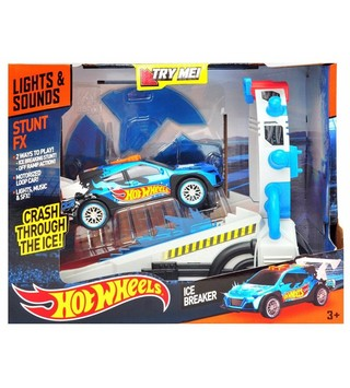 Auto juguete Hot Wheels FX Stunt Ice Breaker