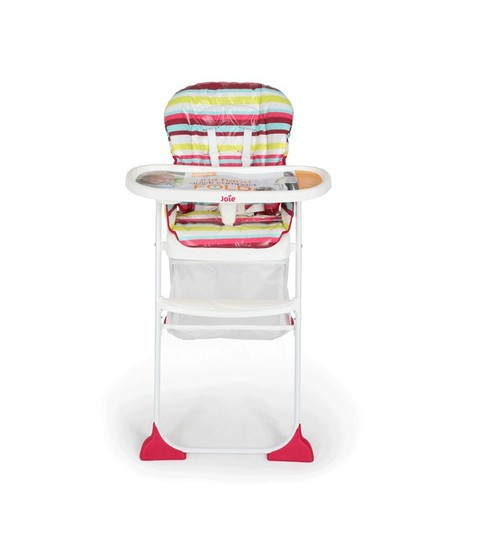 Silla de comer Infanti Mimzy Snacker Girls Stripes
