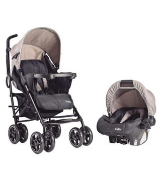 Cochecito Travel System Kiddy C360 Melange en internet