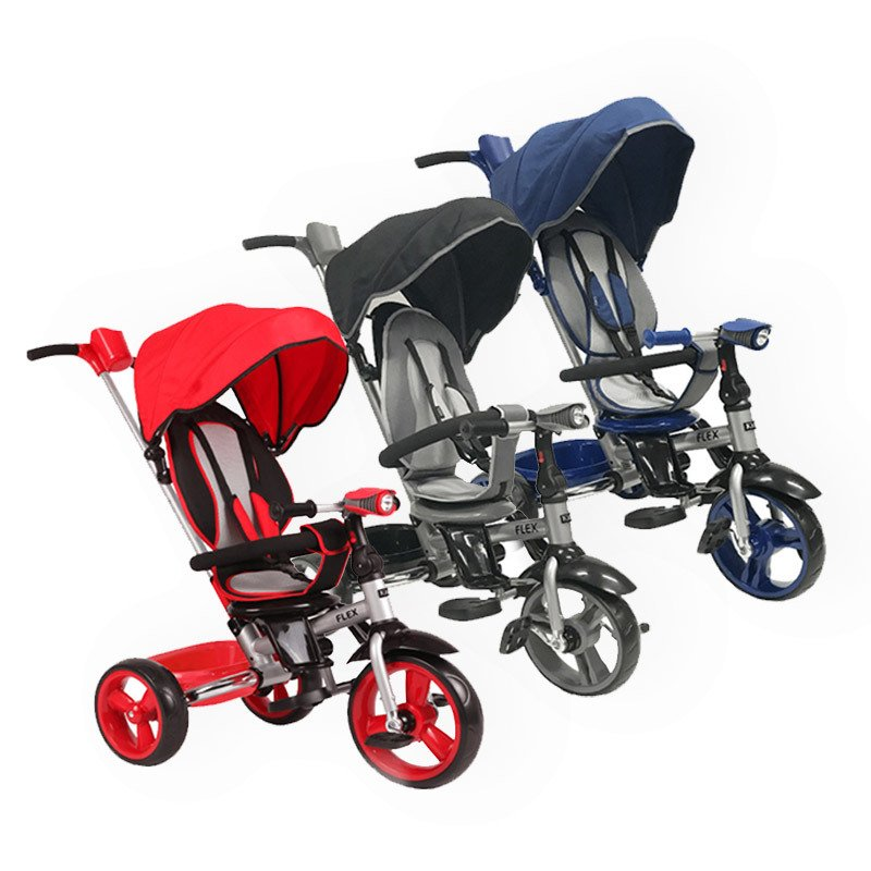 Triciclo Plegable Kiddy Flex