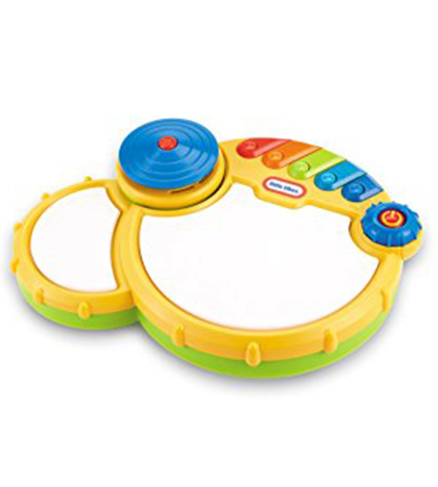 Bateria sonidos  pop tunes drum Little Tikes