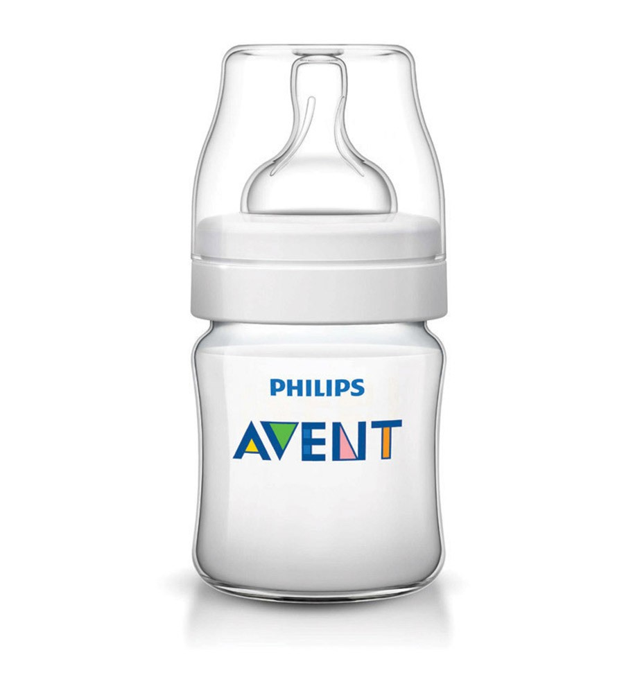 Mamadera Clasica + Philips Avent 125 ml